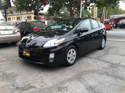2010 Toyota Prius for sale at MK Auto Wholesale in San Jose CA