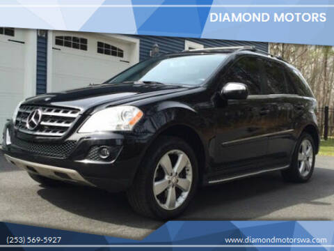 2010 Mercedes-Benz M-Class for sale at Diamond Motors in Lakewood WA