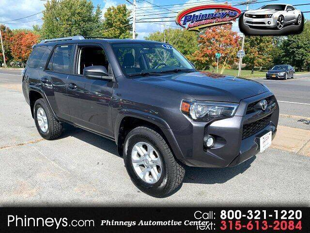 2015 Toyota 4Runner for sale at Phinney's Automotive Center in Clayton NY