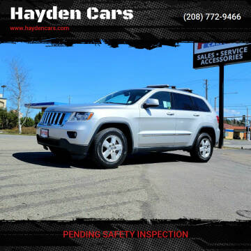 2013 Jeep Grand Cherokee for sale at Hayden Cars in Coeur D Alene ID