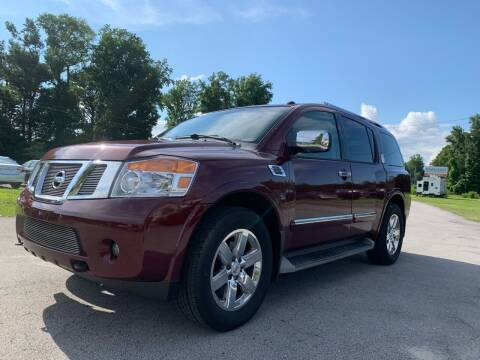 2012 Nissan Armada for sale at IH Auto Sales in Jacksonville NC
