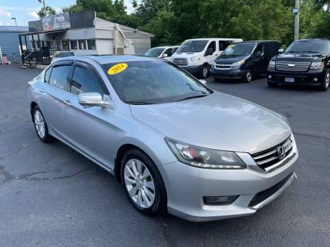 2014 Honda Accord for sale at LexTown Motors in Lexington KY