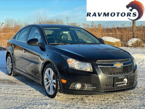 2014 Chevrolet Cruze for sale at RAVMOTORS in Burnsville MN