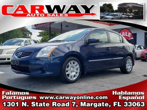 2011 Nissan Sentra for sale at CARWAY Auto Sales in Margate FL