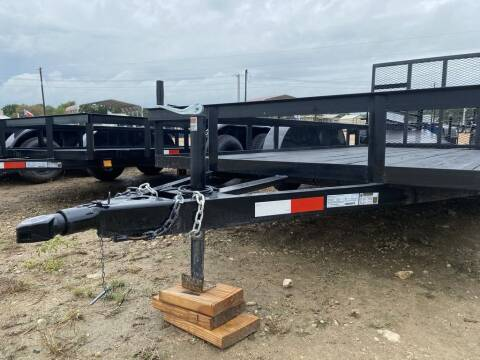 """2020 P & C UTILITY 77"""" X 16' - DOVE  for sale at LJD Sales in Lampasas TX"""