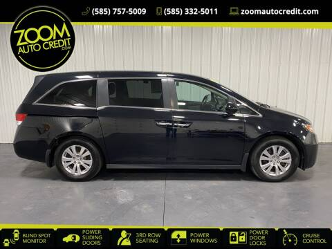 2016 Honda Odyssey for sale at ZoomAutoCredit.com in Elba NY