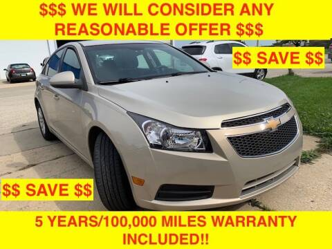 2011 Chevrolet Cruze for sale at Mikes Auto Forum in Bensenville IL