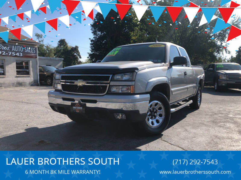 2006 Chevrolet Silverado 1500 for sale at LAUER BROTHERS SOUTH in York PA