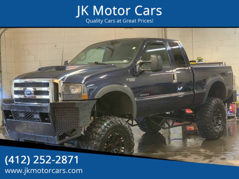 2001 Ford F-250 Super Duty for sale at JK Motor Cars in Pittsburgh PA