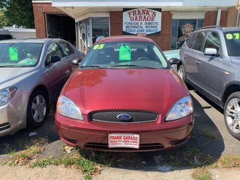 2005 Ford Taurus for sale at Frank's Garage in Linden NJ
