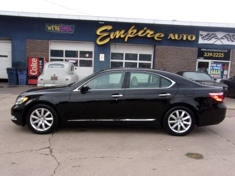 2008 Lexus LS 460 for sale at Empire Auto Sales in Sioux Falls SD