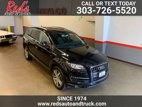 2015 Audi Q7 for sale at Red's Auto and Truck in Longmont CO