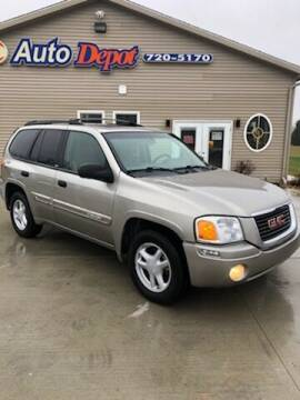 2002 GMC Envoy for sale at The Auto Depot in Mount Morris MI