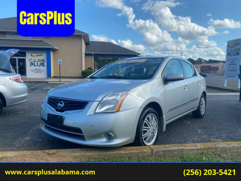 2011 Nissan Sentra for sale at CarsPlus in Scottsboro AL