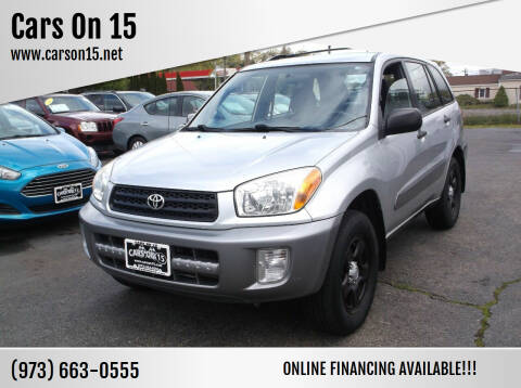 2003 Toyota RAV4 for sale at Cars On 15 in Lake Hopatcong NJ