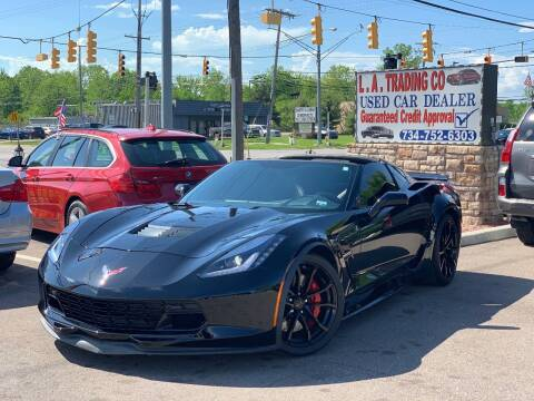 2017 Chevrolet Corvette for sale at L.A. Trading Co. in Woodhaven MI