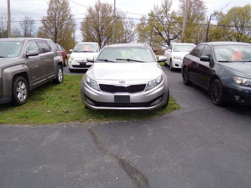 2012 Kia Optima for sale at Pool Auto Sales Inc in Spencerport NY