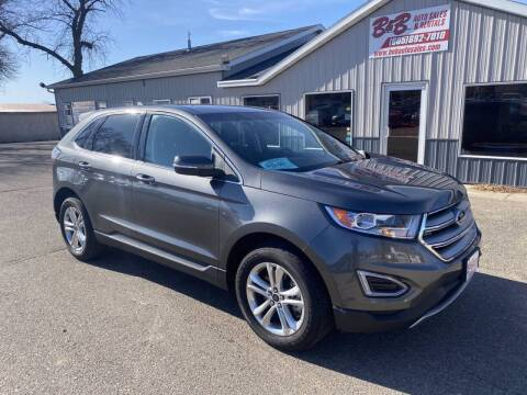 2016 Ford Edge for sale at B & B Auto Sales in Brookings SD