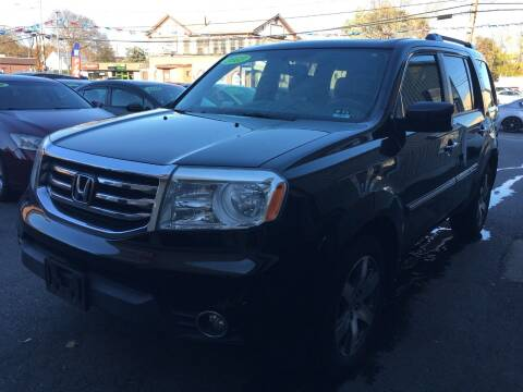 2013 Honda Pilot for sale at Dijie Auto Sale and Service Co. in Johnston RI