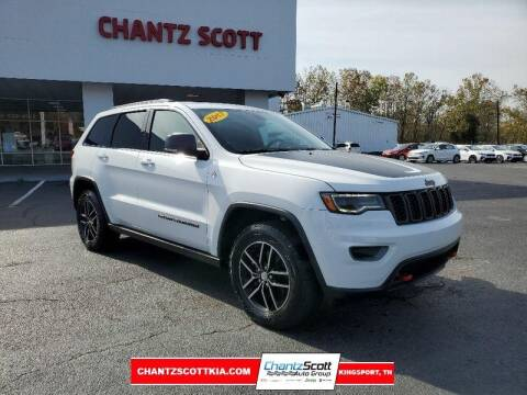 2017 Jeep Grand Cherokee for sale at Chantz Scott Kia in Kingsport TN