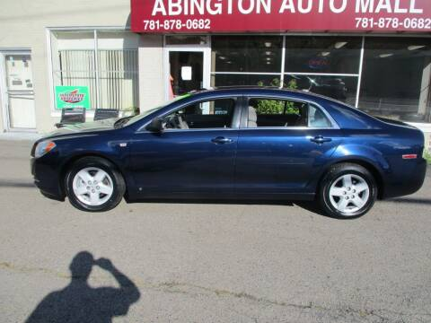 2008 Chevrolet Malibu for sale at Abington Auto Mall LLC in Abington MA