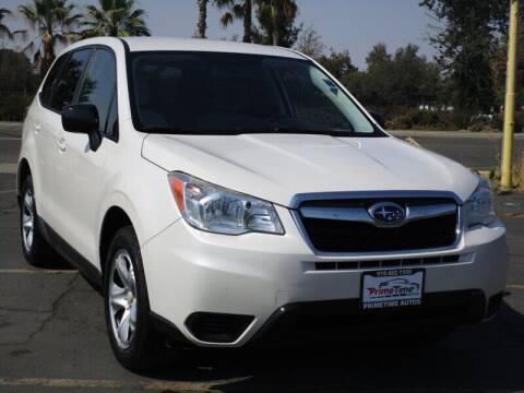 2014 Subaru Forester for sale at PRIMETIME AUTOS in Sacramento CA