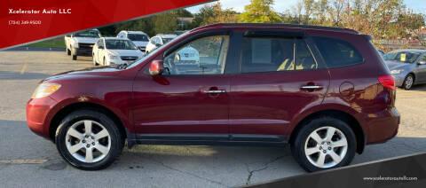 2008 Hyundai Santa Fe for sale at Xcelerator Auto LLC in Indiana PA