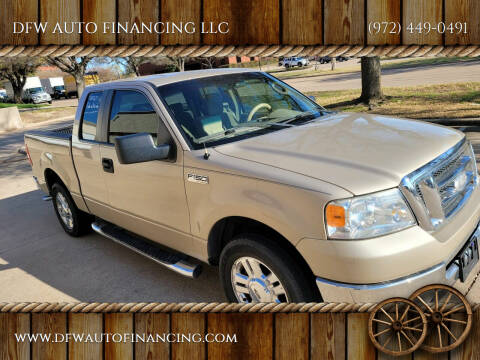 2007 Ford F-150 for sale at DFW AUTO FINANCING LLC in Dallas TX