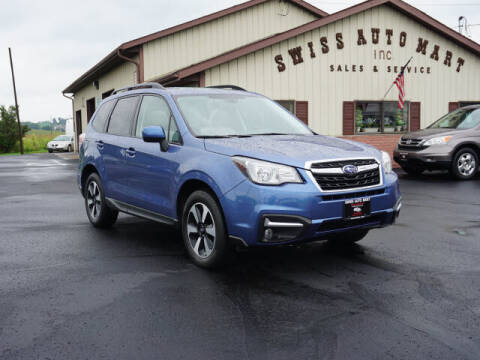 2018 Subaru Forester for sale at SWISS AUTO MART in Sugarcreek OH