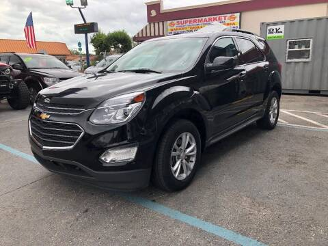 2017 Chevrolet Equinox for sale at CHASE MOTOR in Miami FL