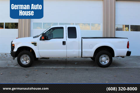 2010 Ford F-250 Super Duty for sale at German Auto House in Fitchburg WI