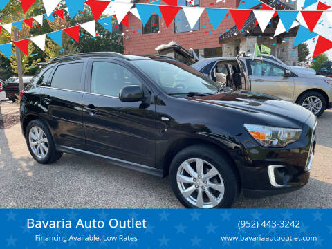 2015 Mitsubishi Outlander Sport for sale at Bavaria Auto Outlet in Victoria MN