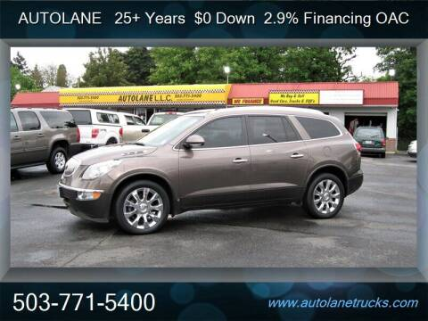 2010 Buick Enclave for sale at Auto Lane in Portland OR