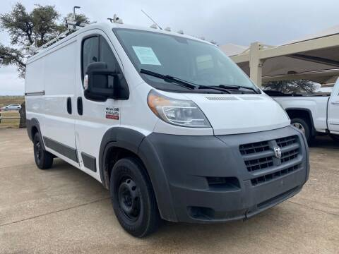 2014 RAM ProMaster Cargo for sale at Thornhill Motor Company in Hudson Oaks, TX