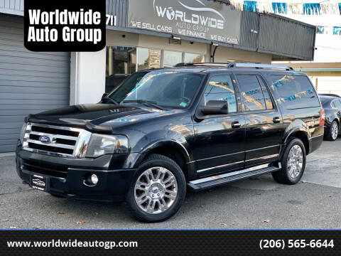2011 Ford Expedition EL for sale at Worldwide Auto Group in Auburn WA