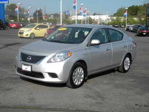 2014 Nissan Versa for sale at Paniagua Auto Mall in Dalton GA