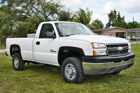 2005 Chevrolet Silverado 2500HD for sale at American Trucks and Equipment in Hollywood FL