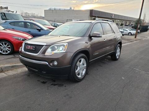 2008 GMC Acadia for sale at High Line Auto Sales in Salt Lake City UT