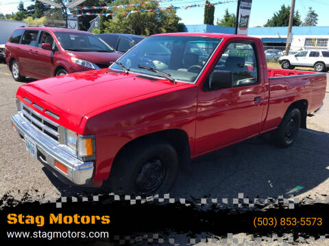 1991 Nissan Truck for sale at Stag Motors in Portland OR