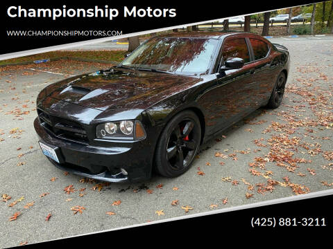 2008 Dodge Charger for sale at Championship Motors in Redmond WA