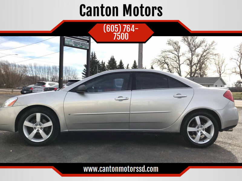 2006 Pontiac G6 for sale at Canton Motors in Canton SD
