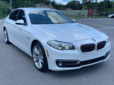 2015 BMW 5 Series for sale at Consumer Auto Credit in Tampa FL