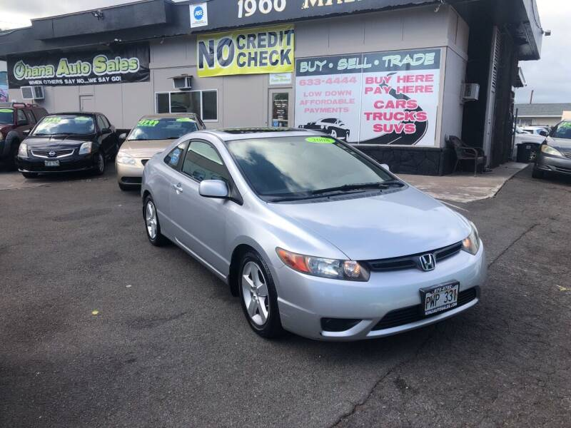 2008 Honda Civic for sale at Ohana Auto Sales in Wailuku HI