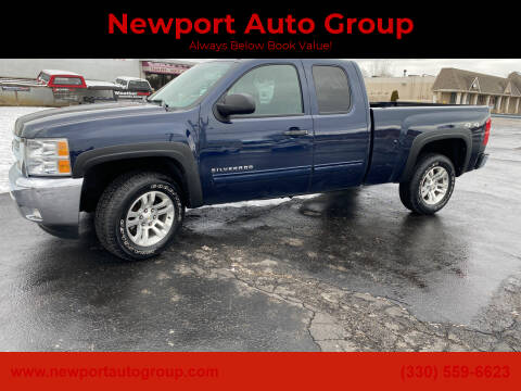 2012 Chevrolet Silverado 1500 for sale at Newport Auto Group in Austintown OH