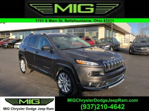 2018 Jeep Cherokee for sale at MIG Chrysler Dodge Jeep Ram in Bellefontaine OH