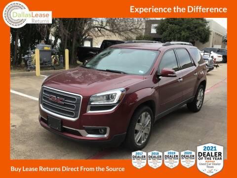 2017 GMC Acadia Limited for sale at Dallas Auto Finance in Dallas TX
