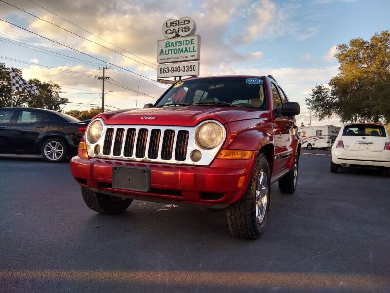 2006 Jeep Liberty for sale at BAYSIDE AUTOMALL in Lakeland FL