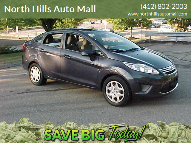 2013 Ford Fiesta for sale at North Hills Auto Mall in Pittsburgh PA