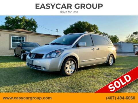 2005 Nissan Quest for sale at EASYCAR GROUP in Orlando FL