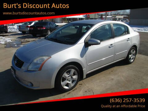 2008 Nissan Sentra for sale at Burt's Discount Autos in Pacific MO